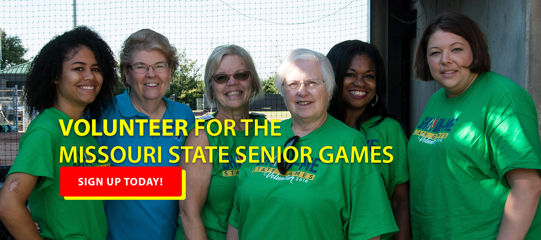 Volunteer for the Missouri State Senior Games
